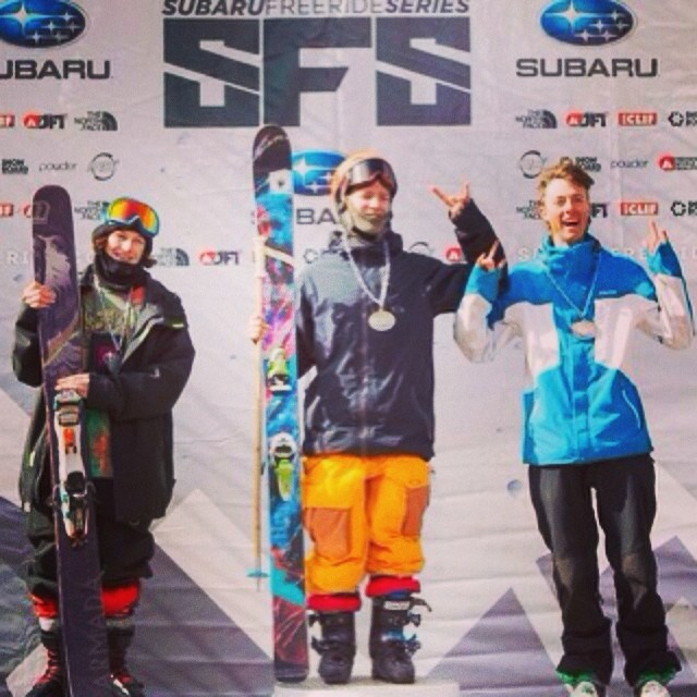 Congratulations @3rikhilb on your 1st place finish in the #JFWT14 at @tellurideski!  Let's get hyped for #JuniorFreerideWorlds at  @bigskyresort on April 4th! #blumpsquad #plantyoursoul