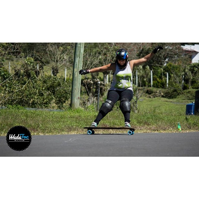 Go to www.longboardgirlscrew.com and check out Pamela Lobo's @pamelc04 new video plus some of our favorite photos of the #CostaRica scene. These girls shred! Wadafoc Mag photo #longboardgirlscrew