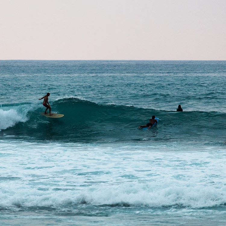 Sundowners shot by @hisarahlee | @prana @josholdenburgsurfboards