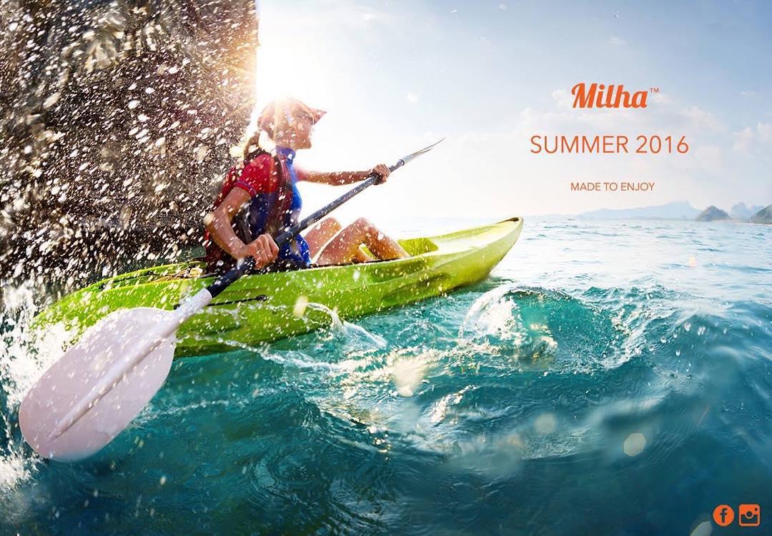 Viví el verano junto a Milha™, una aventura que recién empieza!!!! Made to Enjoy! www.milha.com.ar #milha #madetoenjoy@milha_oficial