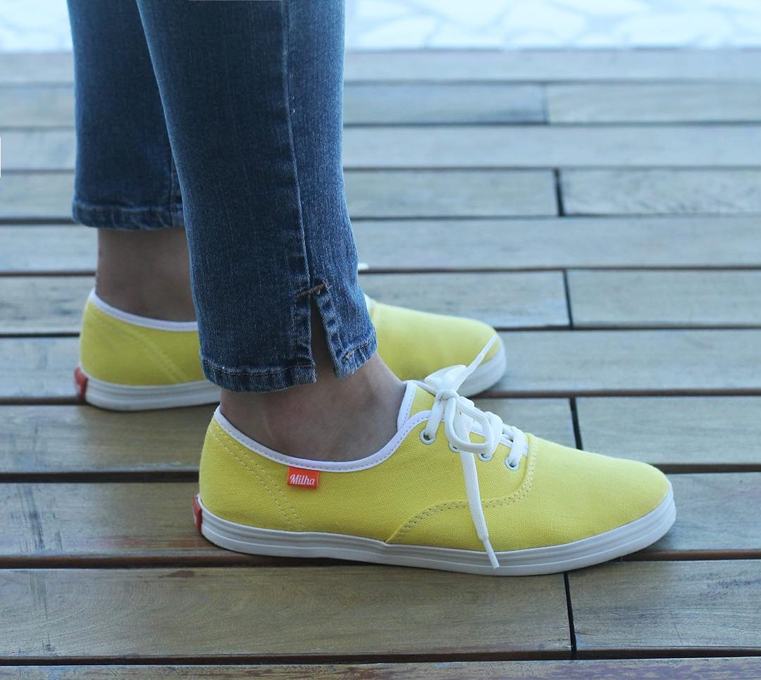 Viví el verano junto a Milha™ Yellow [Colors Collection]. Made to Enjoy! www.milha.com.ar #milha #zapatillasdemujer