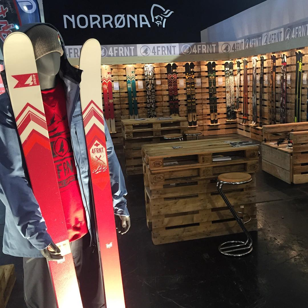 The new lineup is out this week at ISPO in Munich. Booth is looking great. Come swing by A6, 305 near @norrona. #shapingskiing #ispo #ispo2016 #munich| Photo: @matt_sterbenz
