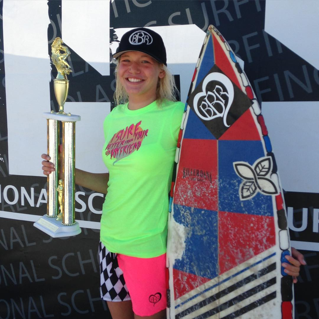 A huge Happy Birthday to our Teamrider, Bethany Zelasko.  You are a champion. #happybirthday #bethanyzelasko #champion #buccaneerboardriders #bbr #bbrsurf #bbrsurfwear