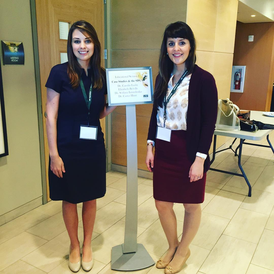 Today, Dr. Lana Iarmolenko of Georgia Southern University and her student, Elizabeth Bellville, did a presentation about Bodhi Surf School at this year's Ecotourism and Sustainable Conference in Tampa Bay, Fla. They examined how we addressing the...