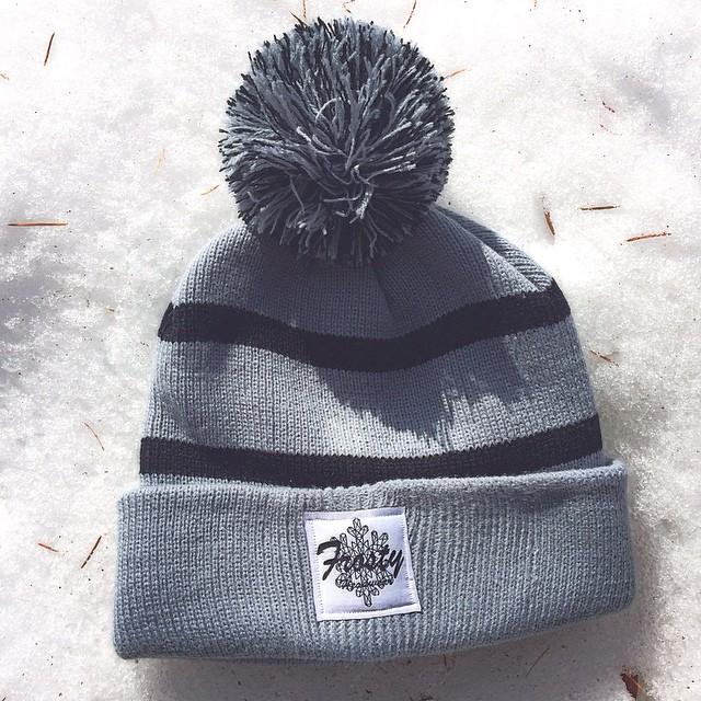 www.frostyheadwear.com #frostyheadwear #beanies #JDRF #embraceyouropportunity