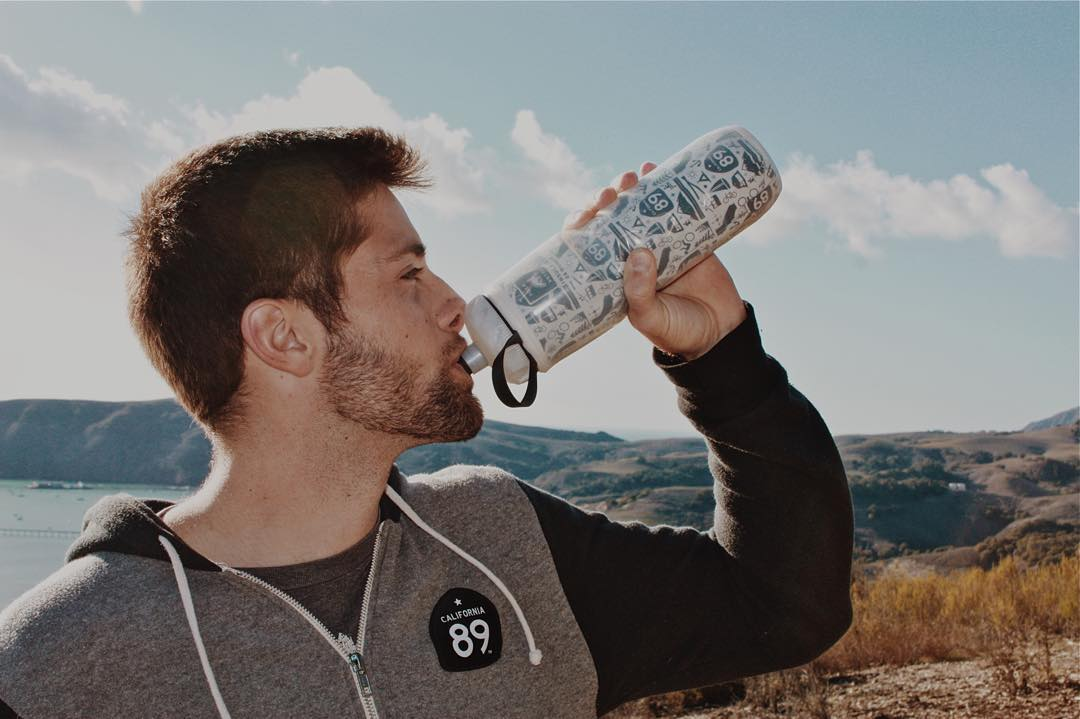 Stay hydrated out there! #CA89 #takeapeak