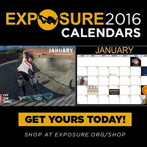 Exposure 2016 Calendars are STILL AVAILABLE! Click the link in our bio to get yours in time to gawk at birthday girl @lizziearmanto 's amazing front feeble #lizziearmanto