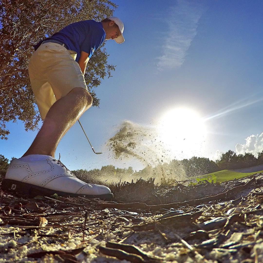FORE!! Welcome to the #GoPro family @justinthomas34! We stoked to have our first @pgatour player + we can't wait to watch you hit the links this season. Head to gopro.com/news for more info. #GoPro #GoProGolf #⛳️#