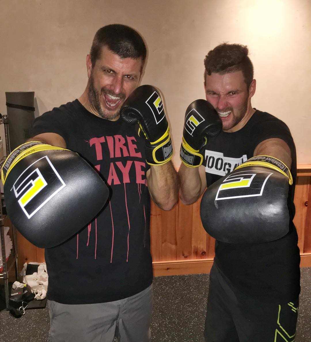 First workout for @AndreasBakkerud and I with @HooniganRacing trainer @KitCope is in the books! It felt good to get back to training. Andreas comes equipped with good kick-boxing skills already, so we had a solid first training session. Only three...