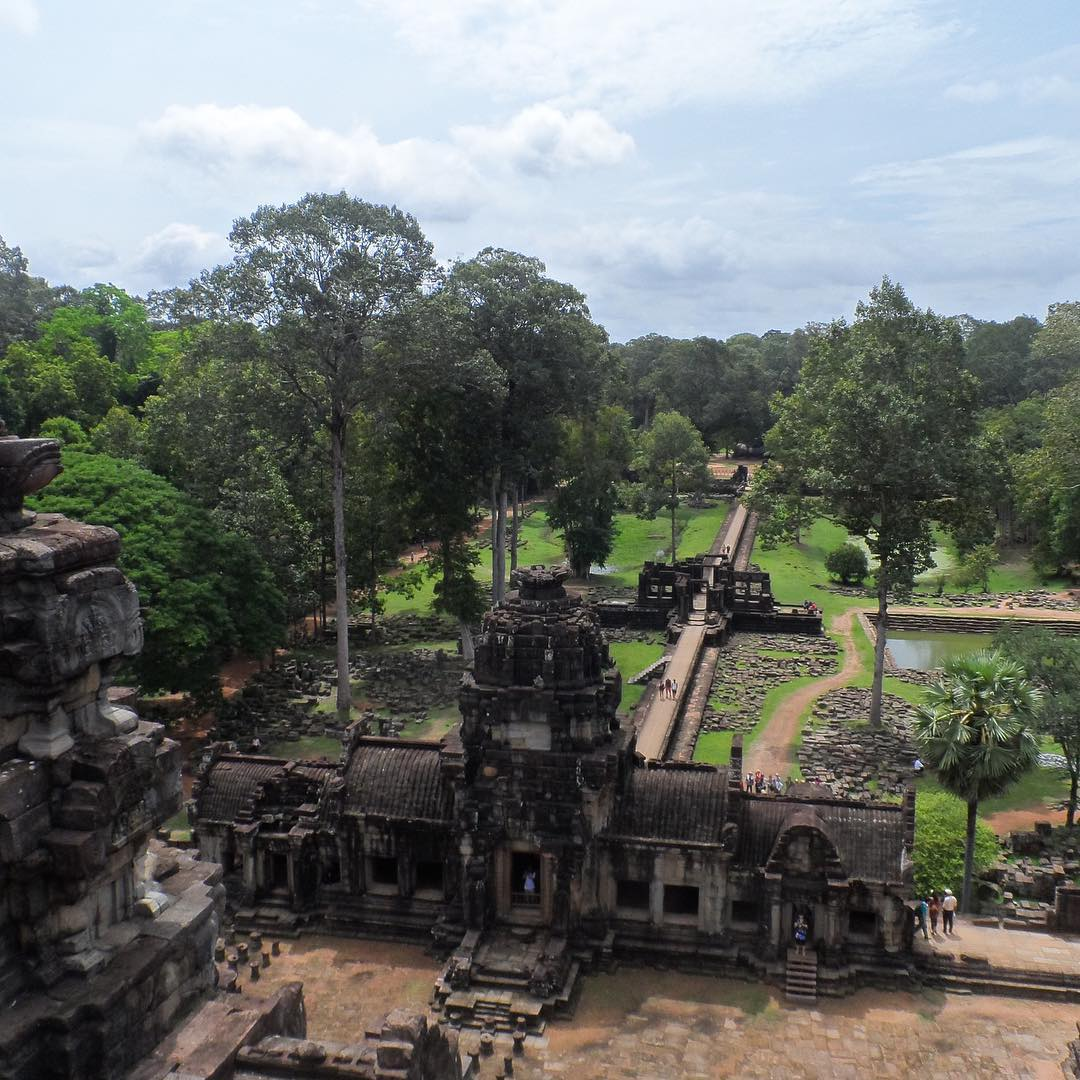 Exploring Siem Reap in Cambodia with @endless.travel. Check out their story at Experience.Forsake.com