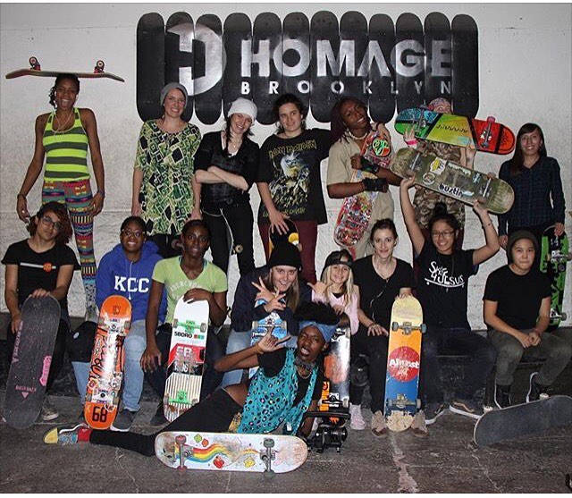 Awesome session last night @homage_brooklyn