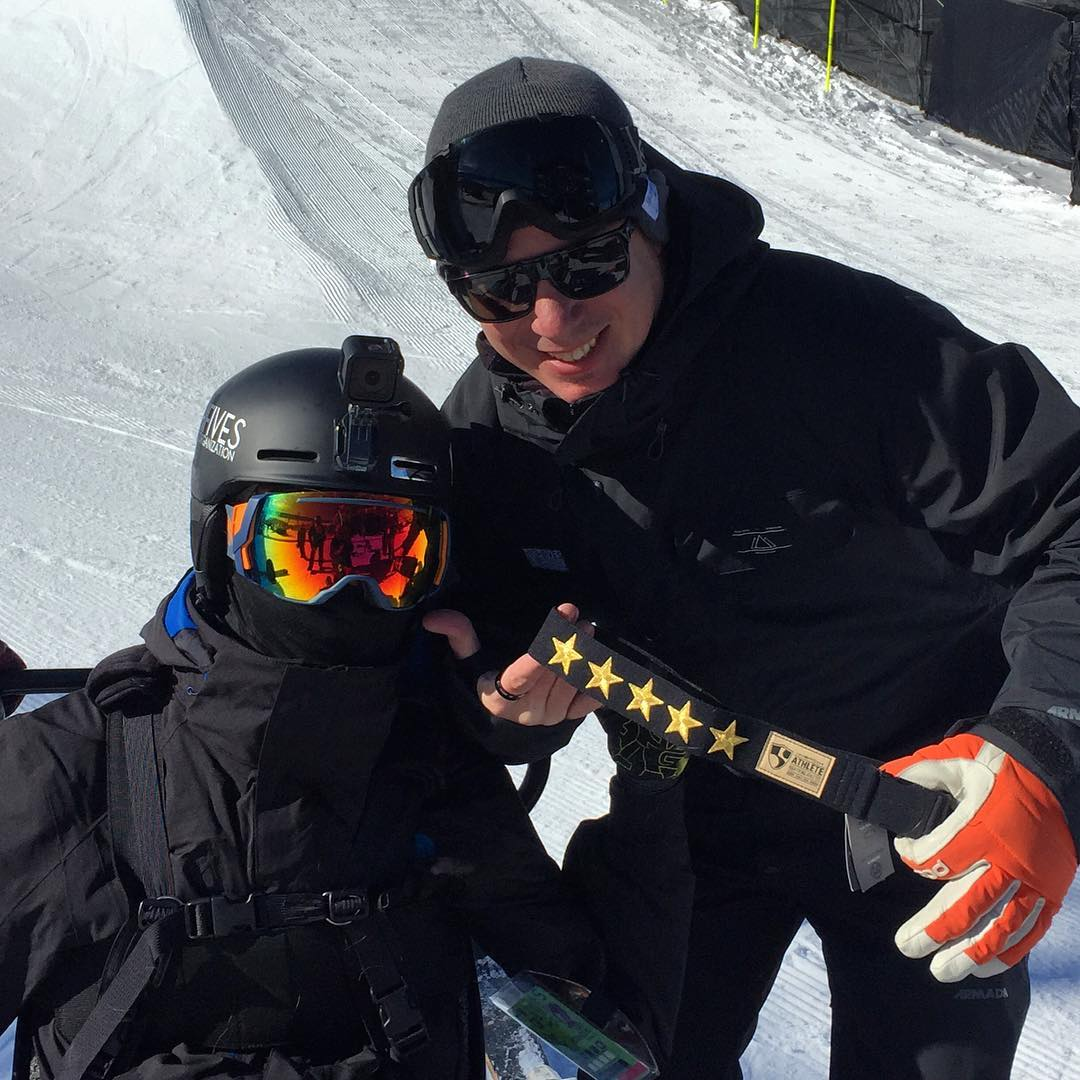 The Fifth @arcadebelts Final Goal achieved by @tonyschmee today at @xgames / @winterxgamess in @aspensnowmass - Thanks EPS and your entire crew and a big high five to @snowparktech