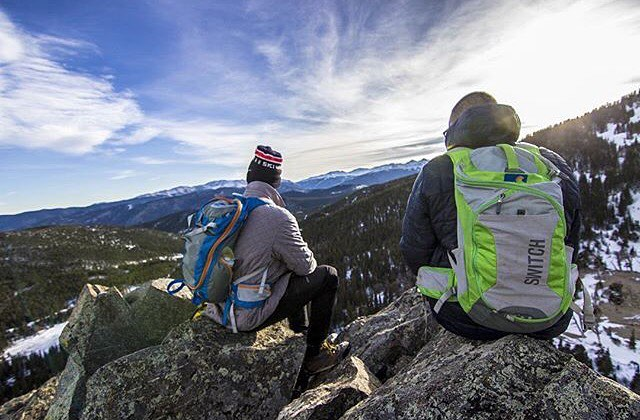 Intern Max puttin in some quality testing time. @maxmantey #MHMgear #PacksElevated #ProductTesting #Colorado