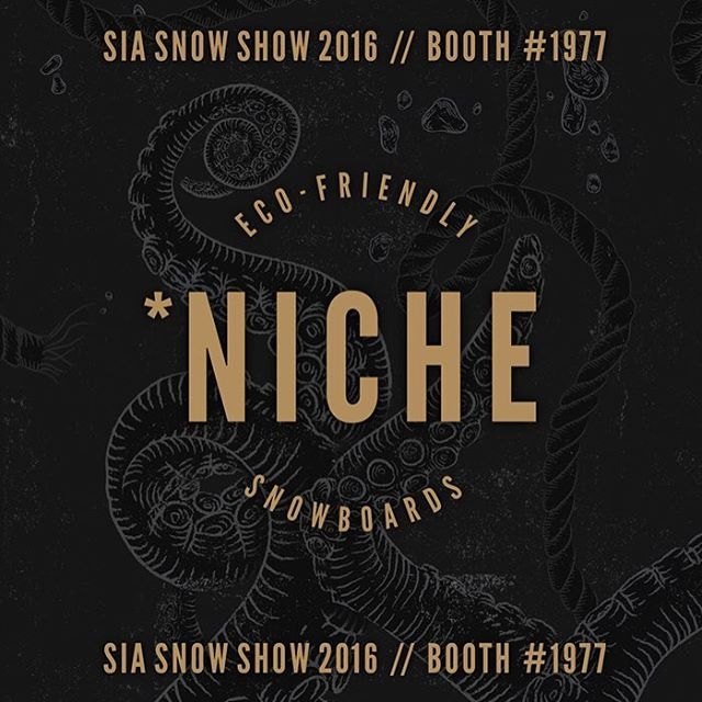 You guys ready for more sneak peaks of the 2016/17 #nichesnowboards lineup?! Well they'll start rolling in today at #sia16!!