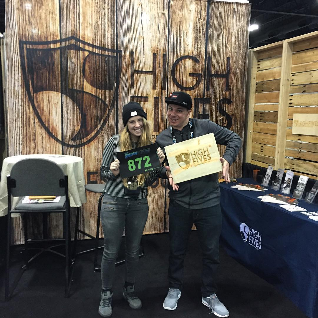 Come find us at #SIA2016 at booth #872 to get a FREE HIGH5 and check out our booth inspired by @blackboxcase