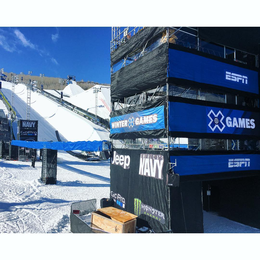 Get ready X Games Aspen 2016! #XGames #xgamesaspen #winterxgames #xgames2016 #snowboard #ski #snowmobile #pros #aspen #colorado #photography #extremesports #actionsports #graceflix