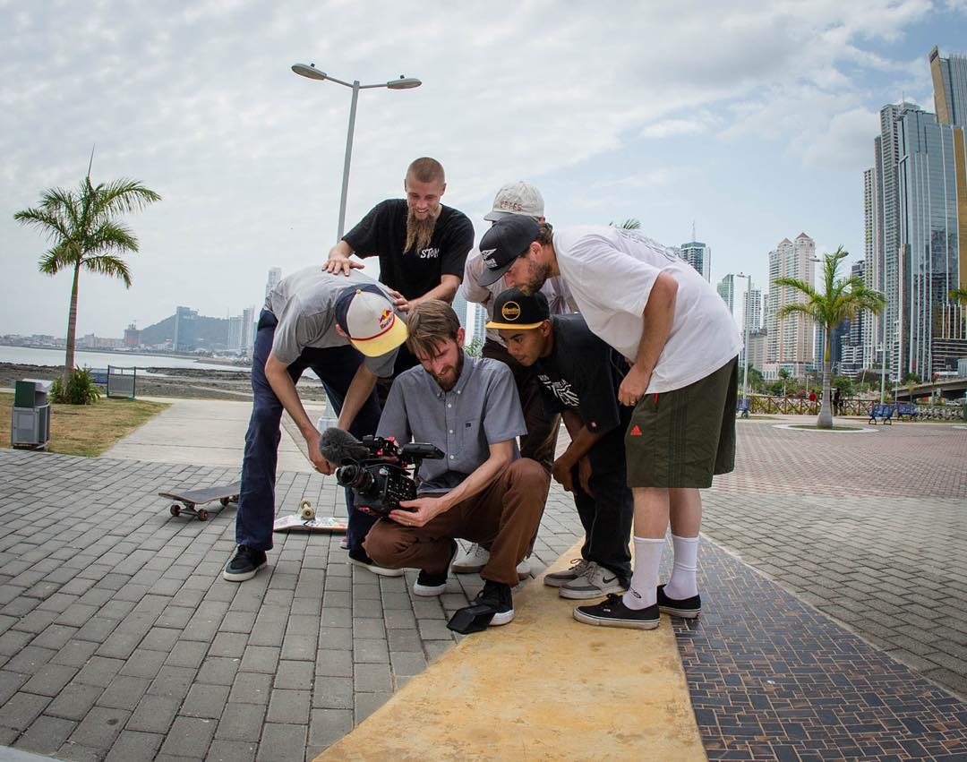 our dudes are down in Panama right now enjoying the heat, footage party with @madarsapse @greyson_fletcher @nick_garcia @filmerguy @_julian_davidson and @colemathews