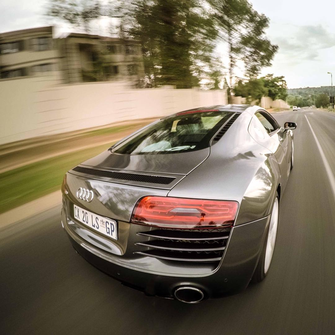 GoPro Featured Photographer - @chrisrogersza  About the Shot: Supercar - My cousin @not_sean is a car fanatic and has access to drive one of the demo @Audi R8's at a local dealership. So one morning we decided to try get some cool shots of the car with...
