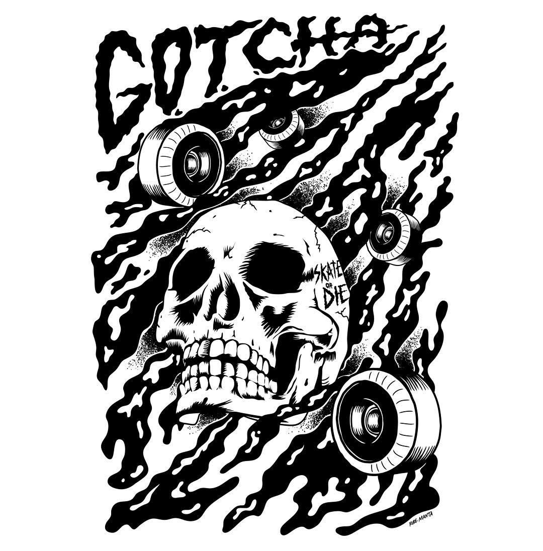 Gotcha by George Manta #gotcha #iconsneverdie