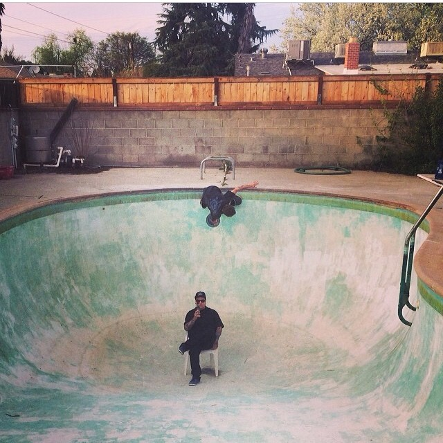 @masonmerlino on the hunt for more pools in Fresno found @nonfiltered66 #legithuman