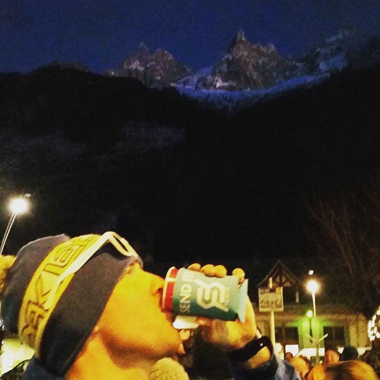 #justsendit #alps @smitkj90 #skiing #snowboarding #beerstagram #coozie #ctskibears