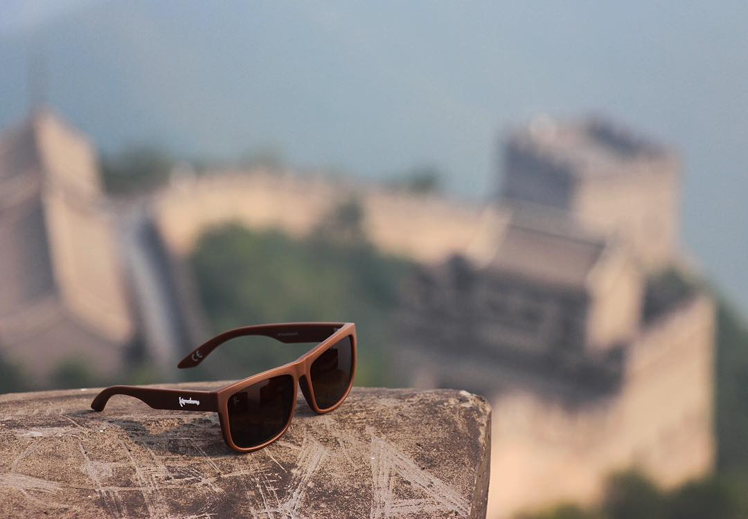 The Vessel - Climbs the Great Wall of China and floats! The ultimate shade for adventure.☝