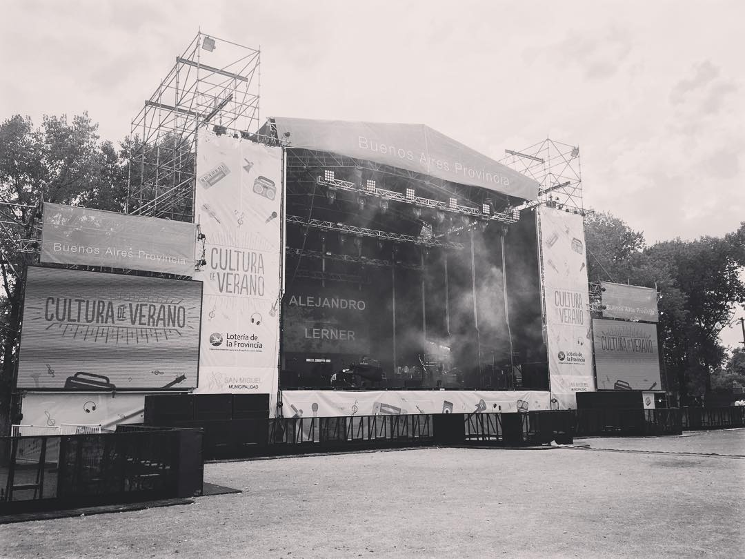 Sound check #CulturaDeVerano #BigProductions #Work