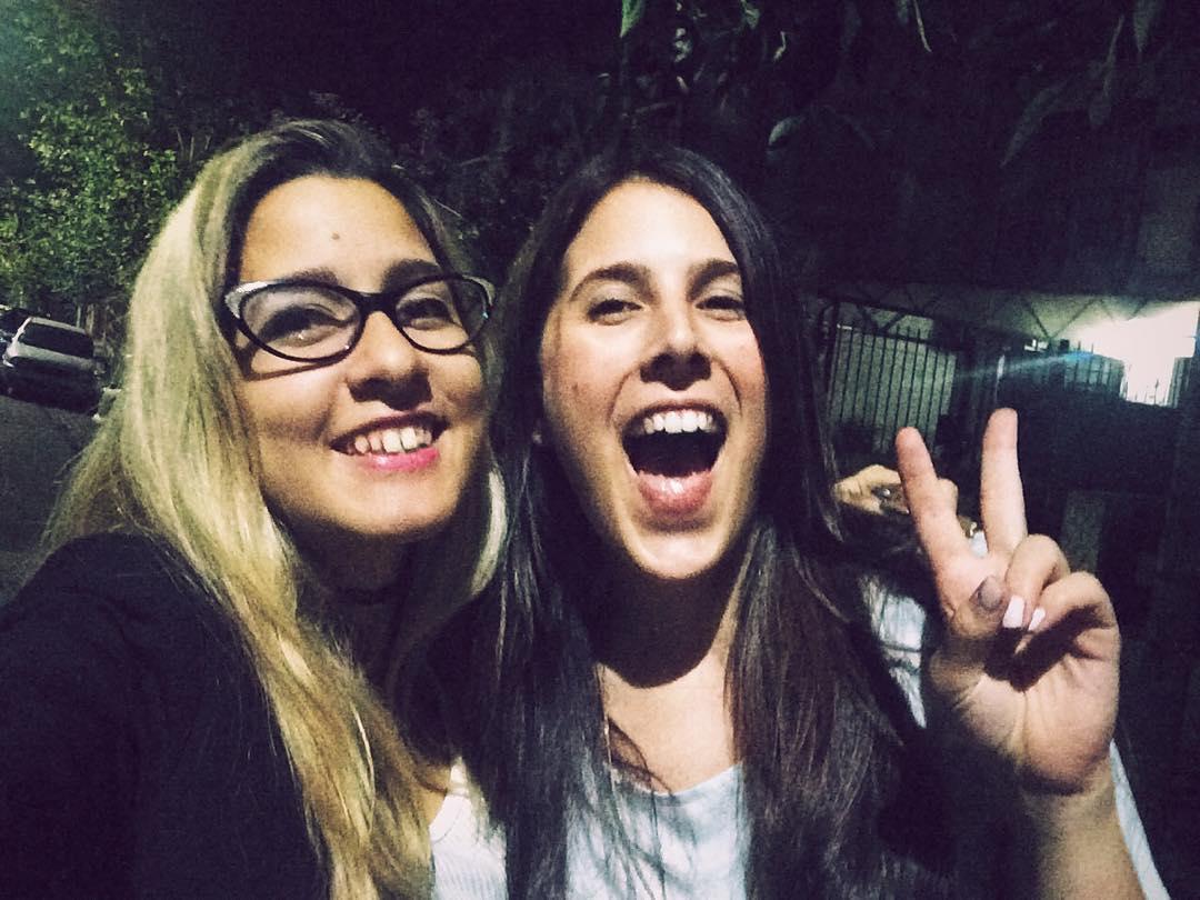 Con ella @lauraperezganade
