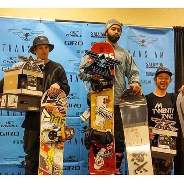 Matt Coldren aka @ya_boy_mattyc taking the podium at Angel Fire Trans Am! #propacamba @oncoreskateandsnow