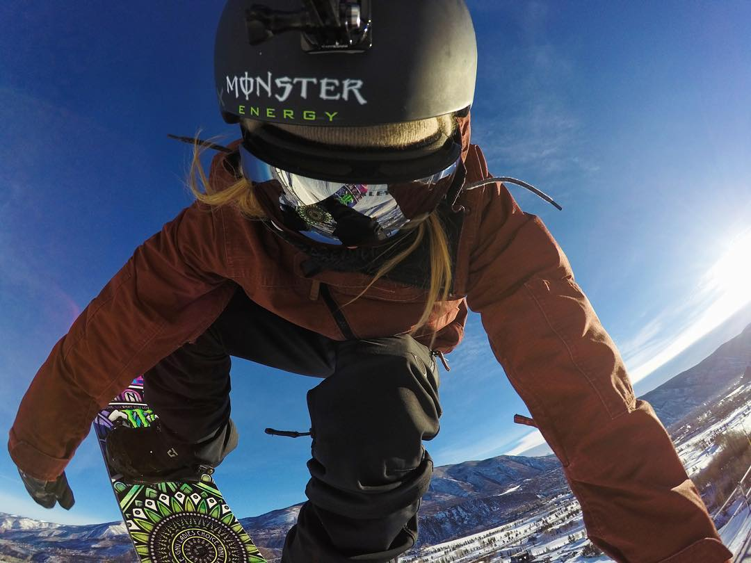 Huge ups to our girl @jamieanderson for being named the @twsnow Women's Rider of the Year! Stoked on seeing her continue to break new ground and dominate women's slopestyle. #GoPro #GoProSnow #rideroftheyear