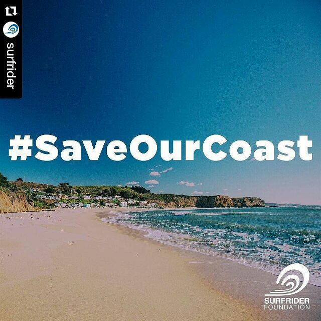 #Repost @surfrider with @repostapp ・・・ Our California coastline and beaches are under attack and we need your help. Click the link in our profile and learn how you can help #saveourcoast