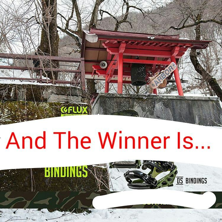 Congratulations to Ave Perry @goldenrider4two0!!! @IanSams  picked you to win the Flux DS Bindings. Please contact us at info@flux-bindings.com to claim your prize. If didn't win, don't worry, the next contest starts soon! #fluxbindings #win #snowboard...