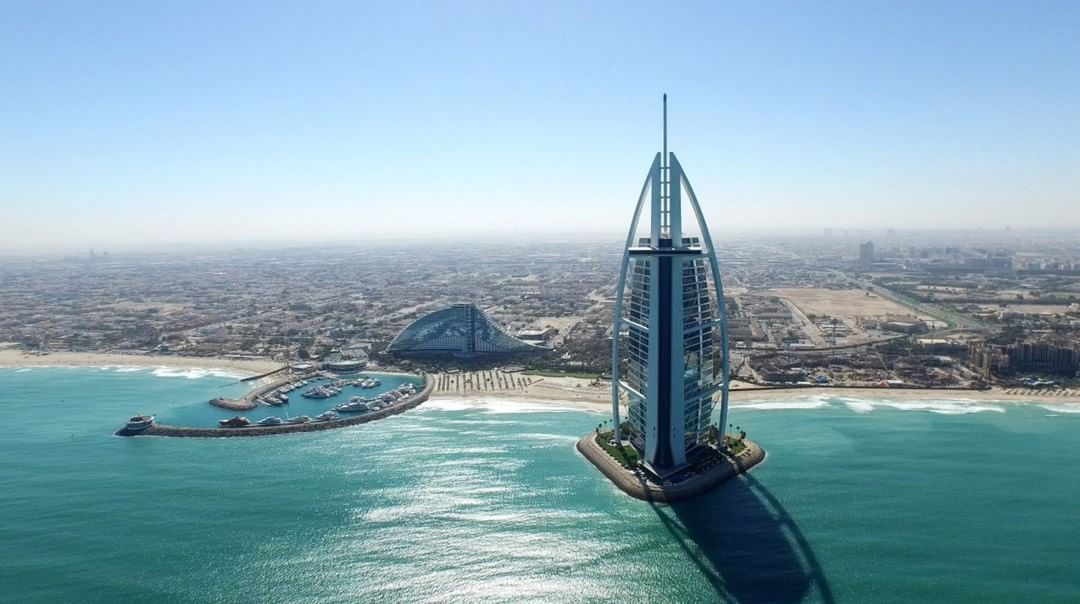 Burj Al Arab  Credit: NPRO+ | #Phantom #Dubai  Use #IamDJI to share your aerial creations with us!