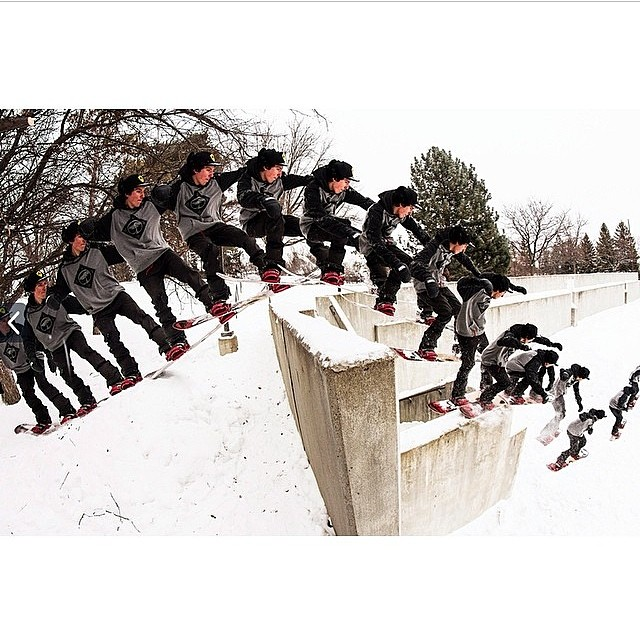 Wicked sequence shot of team rider, @sammy_spits from his most recent trip to the #Midwest . #Minnesota #SketchyAssDrop