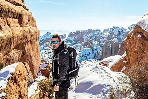 We are shifting from Kameleonz to KZ Gear to better fit who we are. We hope to inspire you to get out and adventure and go after whatever you're passionate about, like @slaterifik does, beating the cold in southern Utah. #kameleonztokzgear #kzgear...