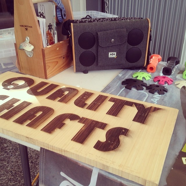 The @houseofmarley #rootsrock has been on tour with us all winter.  This is an incredible little speaker.  With auxiliary or Bluetooth connectivity and a rechargeable lithium-ion battery, this is THE ideal music box for a picnic, apartment party, or...