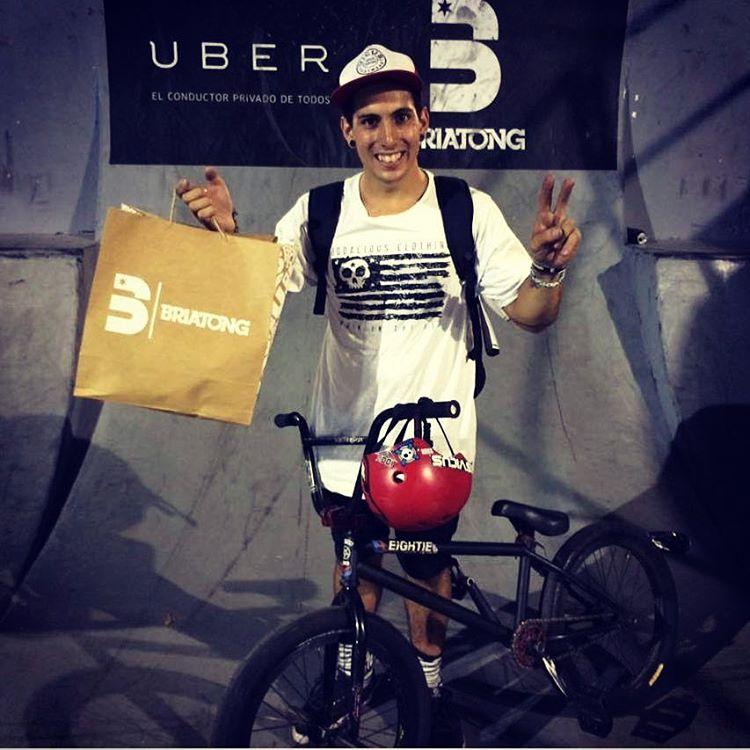 Felicitamos a @brianboghosian por su participacion en el #briatong quedando entre los 10 mejores riders!