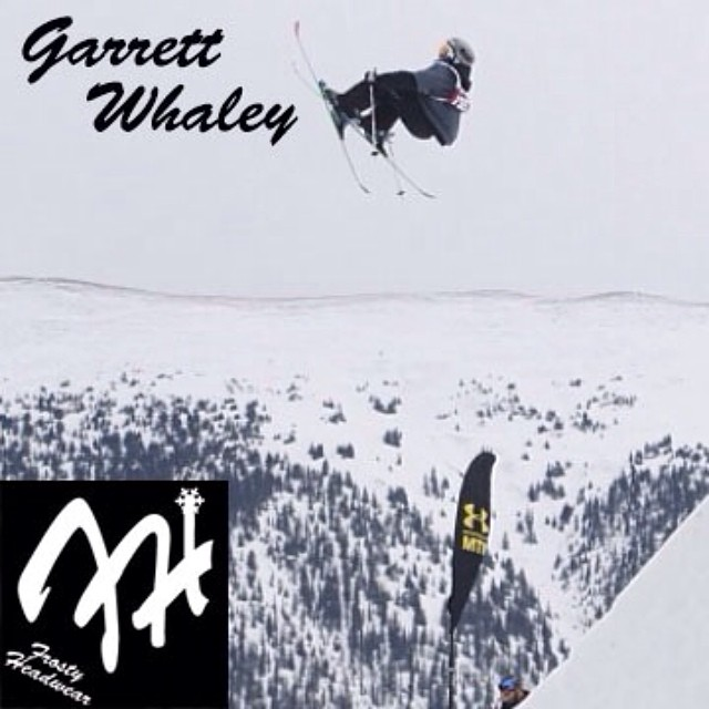 Team rider from #Connecticut @garrett_whaley❄️#frostyheadwear #freestyleskiing