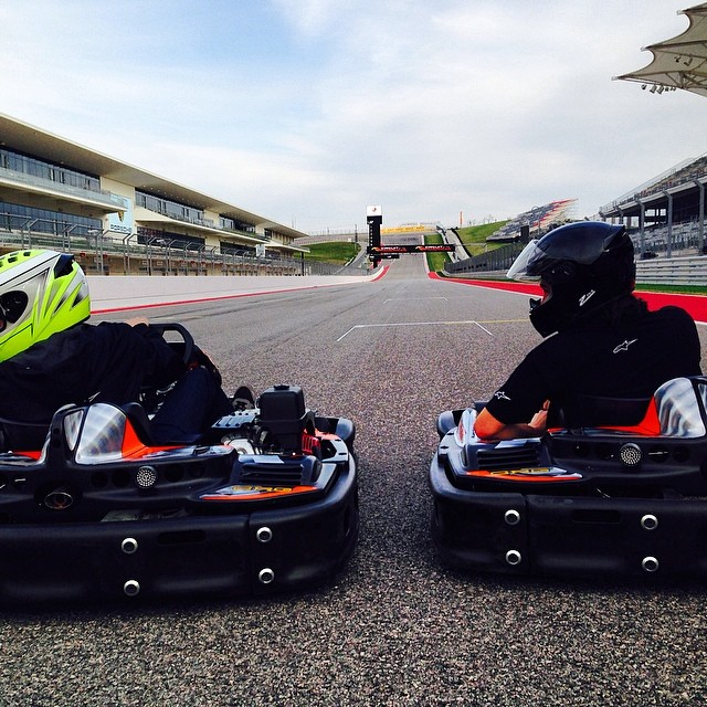 Warming up the track! #F1training #XGamesAustin @cota_official