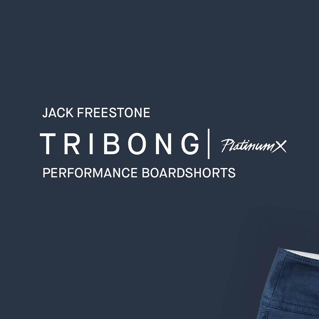 Introducing the Tribong Platinum X Fronds- Look for @jackfreestone to be wearing this boardshort when he takes on the world's best at Snapper next month.