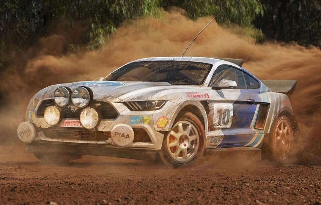 Came across this Mustang rendering on the Top Gear website recently. Rally spec, FTW! Love seeing that vintage Ford Motorsport livery on there too. So, who's building this thing?? #iheartgravel #FordMustang