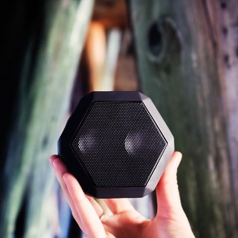 The #Boombotix Rex in Pitch Black◼️ Get yours at Boombotix.com  #SoundOfTheBrave  #portablespeaker #bluetoothspeaker #lifestylebrand #essential #audiophile