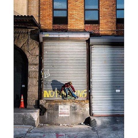 @tfunkb door ride in New York City from the new issue of @transworldskate. Photo: @blabacphoto #TFunk #DCShoes