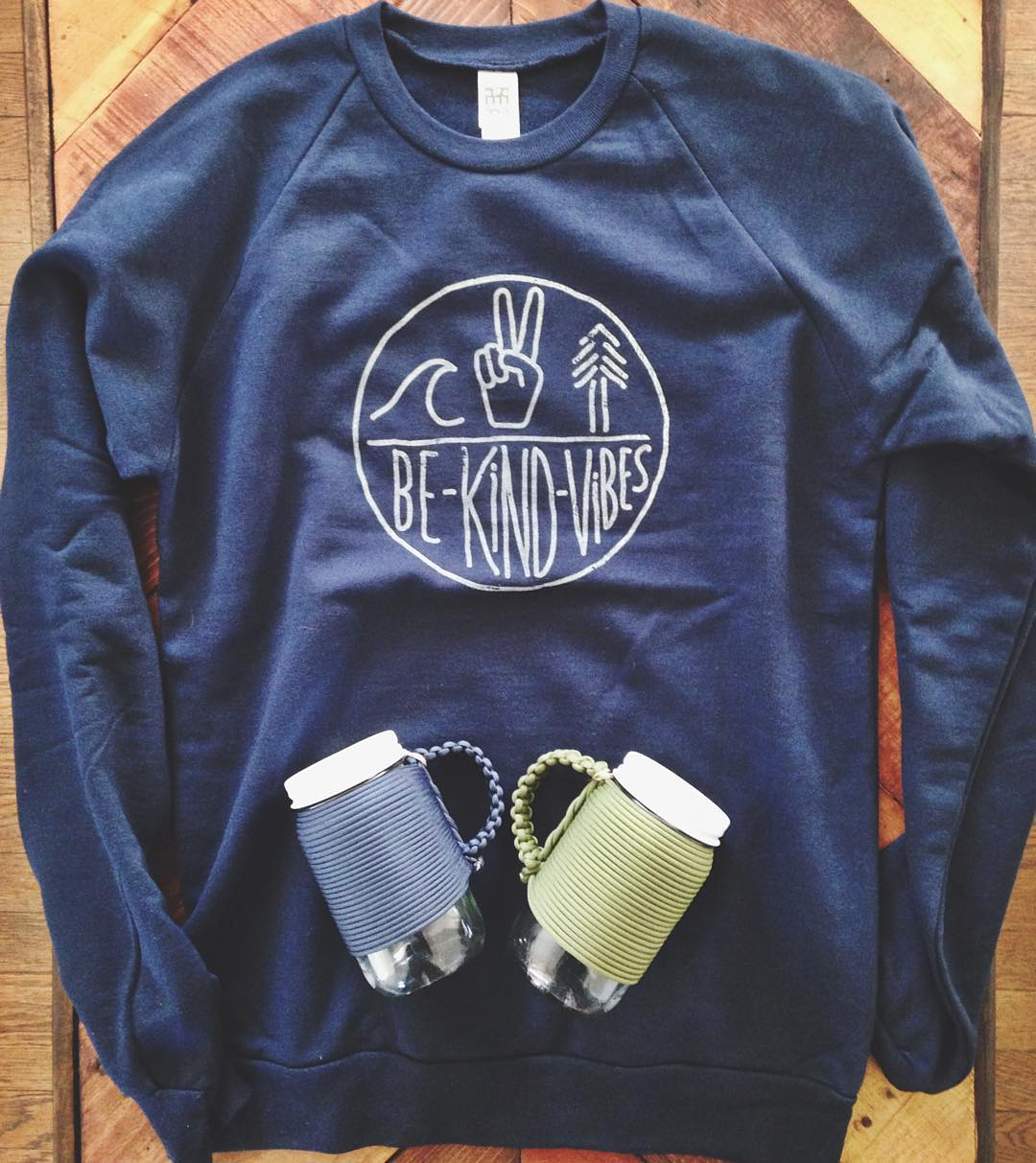 "~ Winter Bundle ~  For a limited time, purchase the 100% organic crewneck sweater, and receive 15% off our collab Adventure mug with checkout code ""winter"". There's no better way to stay warm during these chilly days then a cozy sweater and a reusable..."