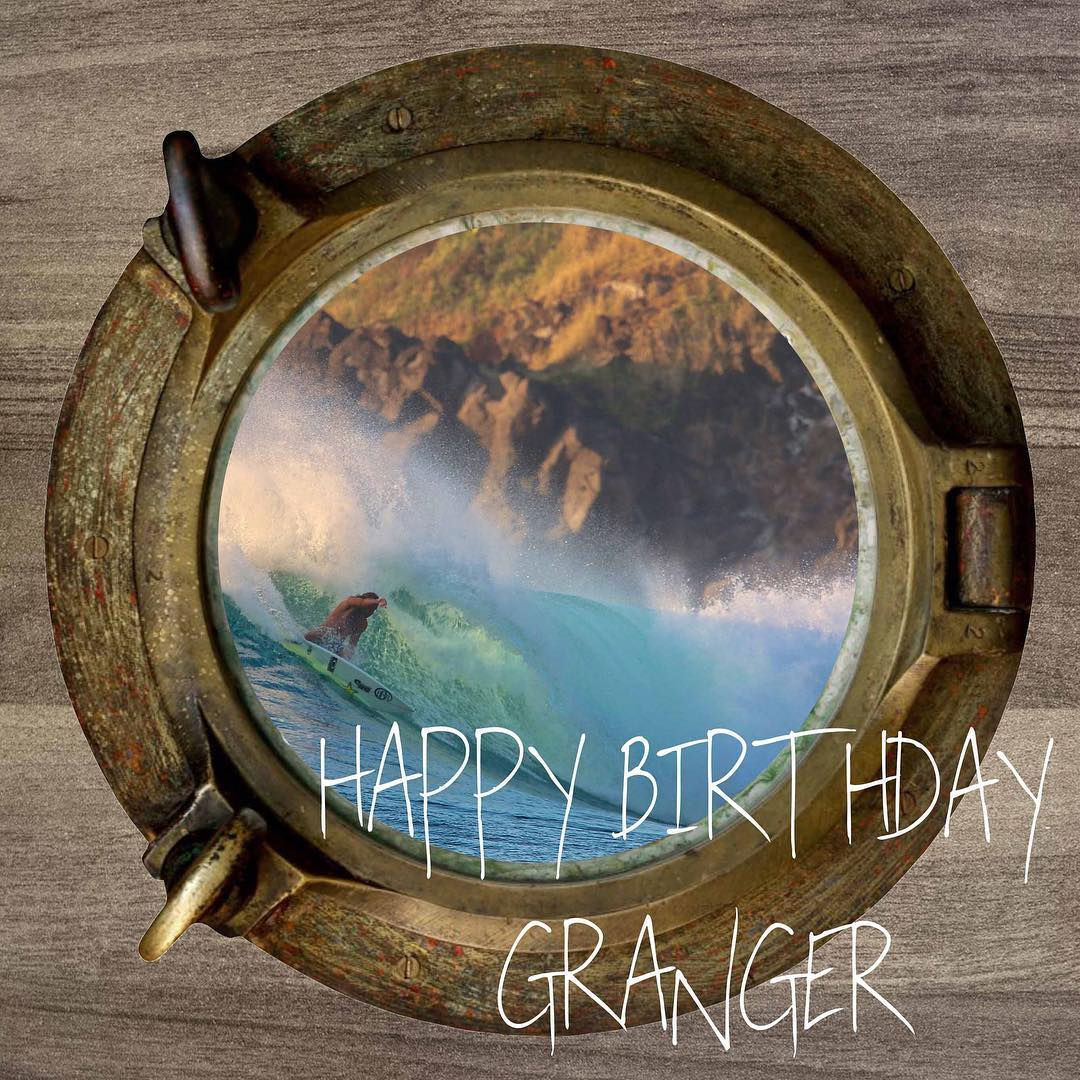 Happy Birthday to our Teamrider, @grangerlarsen  This is your year!  #happybirthday #grangerlarsen #bbr #bbrsurf #bbrsurfwear #buccaneerboardriders