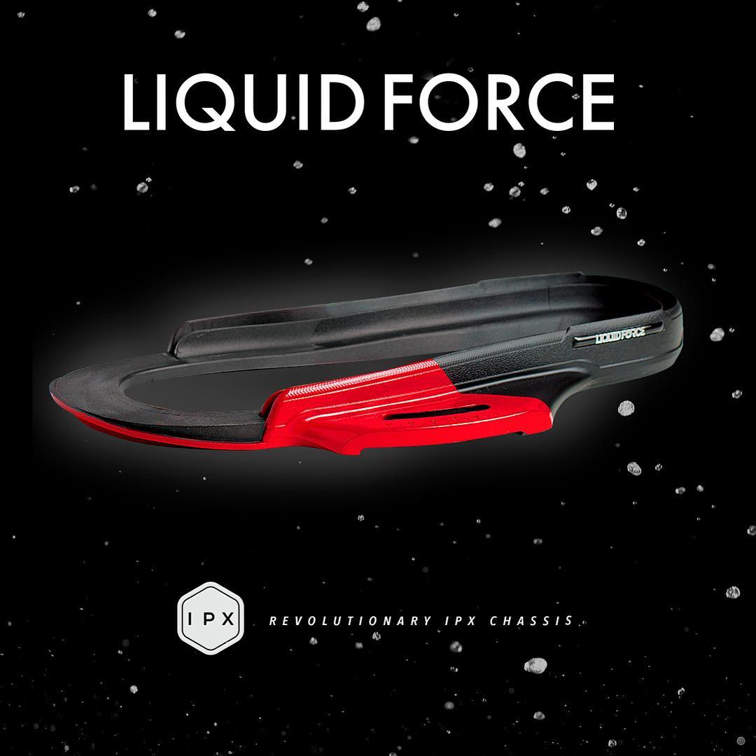 Our patented IPX Chassis... More performance and less heel lift for improved response and energy transfer.  It all starts with a solid foundation.  #LiquidForce #foundation #thestrongest #IPX
