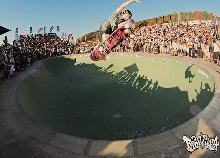 @tristanrennie lien air in Chile @bowlzillachile.