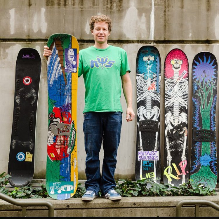 """His board was a ground breaking concept. It spear headed twin tip freestyle snowboarding, it created a genre. To have that kind of a brick in the foundation of snowboarding is truly a special thing. Matt deserves and is owed every ounce of that brick..."