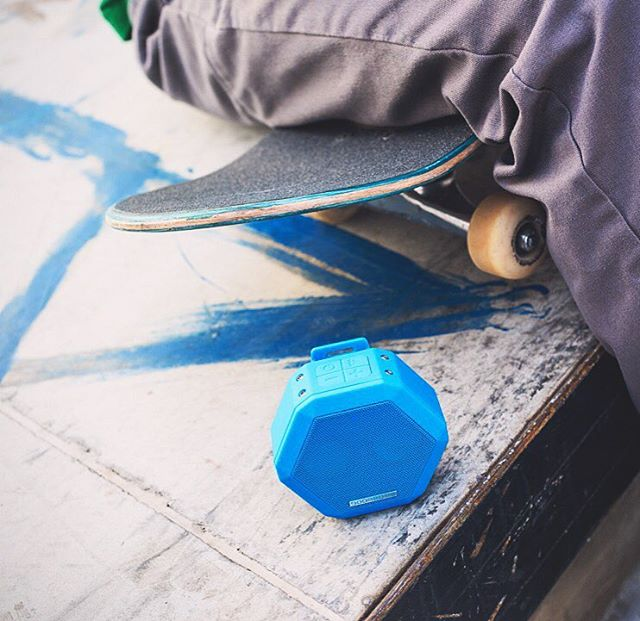 •REX• in Pacific Blue  #Boombotix  #portablespeaker #bluetoothspeaker #lifestylebrand #essential #audiophile