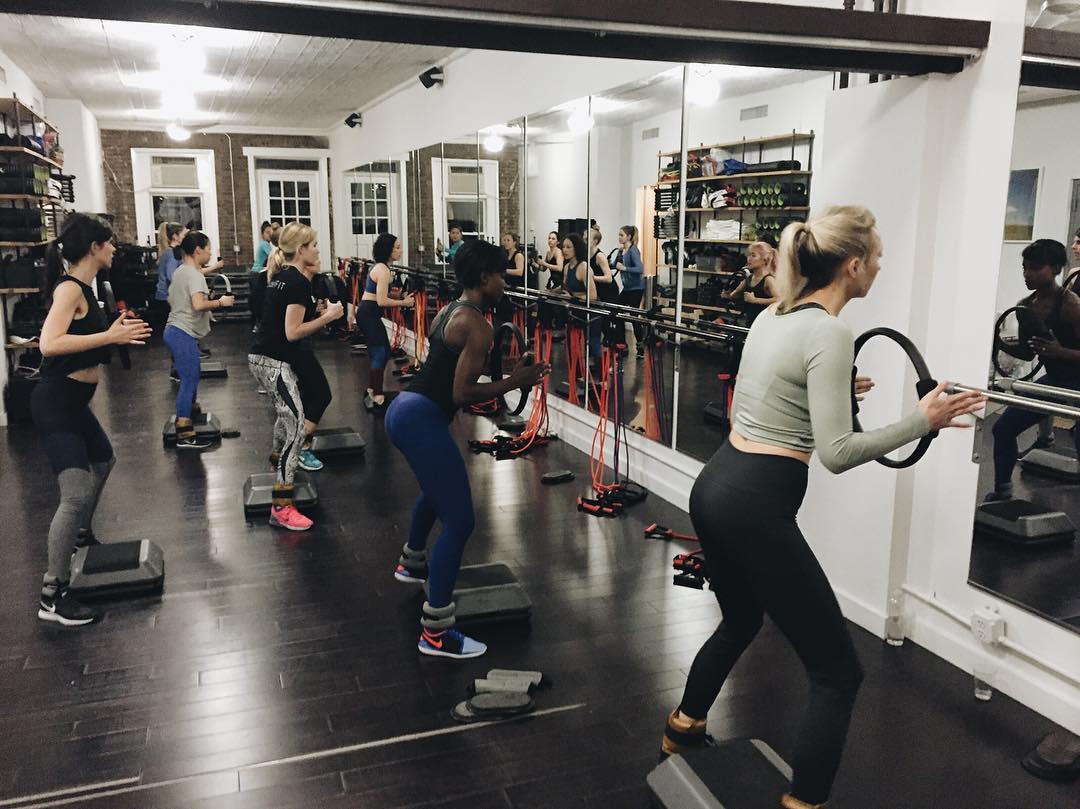 The burn was real. A huge shout out to all of the #modelfitbabes who made it out for last night's #HICKIESFit @ modelFIT. We hope you're still feeling it today